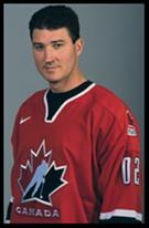 Mario Lemieux in Team Canada Jersey